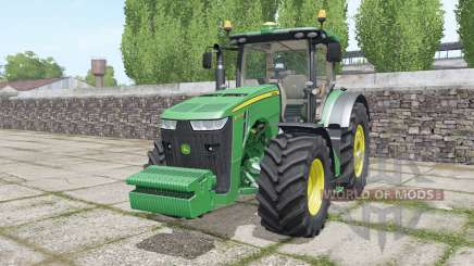 John Deere 8320R with weights for Farming Simulator 2017