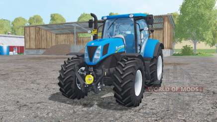 New Holland T7.170 animation parts for Farming Simulator 2015