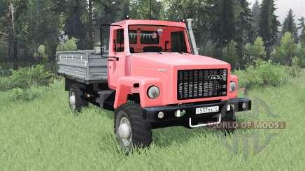 GAZ SAZ 2506 for Spin Tires