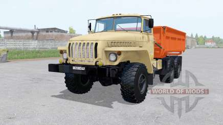 Ural 5557 6x6 with trailer for Farming Simulator 2017