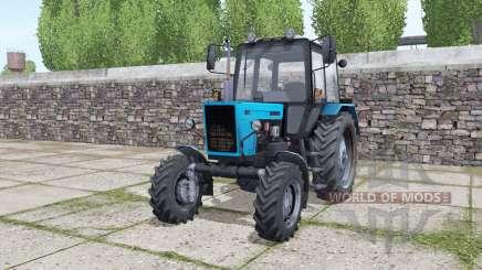 MTZ Belarus 82.1 interactive control for Farming Simulator 2017