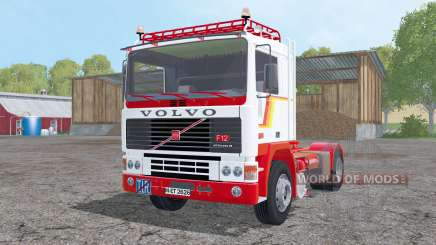 Volvo F12 with semitrailers for Farming Simulator 2015