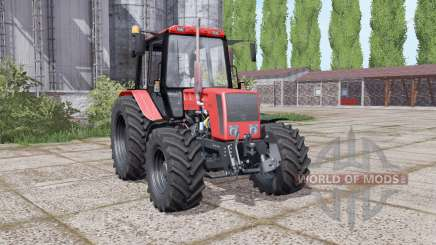 Belarus 826 with a choice of configurations for Farming Simulator 2017