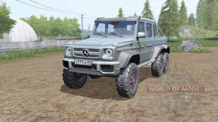 Mercedes-Benz G 63 AMG 6x6 for Farming Simulator 2017