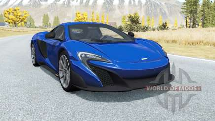 McLaren 675LT 2015 for BeamNG Drive