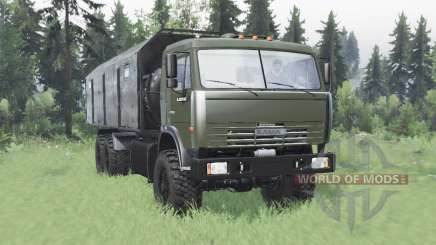 KamAZ 43118 long base for Spin Tires
