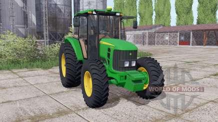 John Deere 6110J dual rear for Farming Simulator 2017