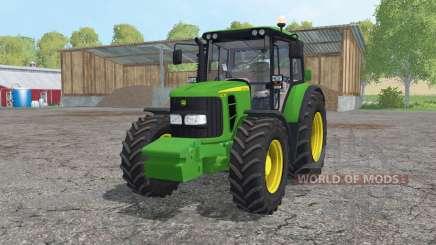 John Deere 6230 pack for Farming Simulator 2015