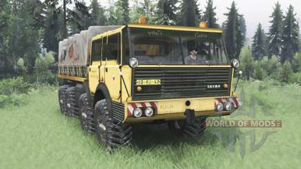 Tatra T813 TP 8x8 1967 v1.4 for Spin Tires