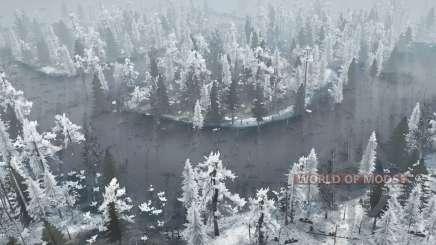 Winter Bog for MudRunner