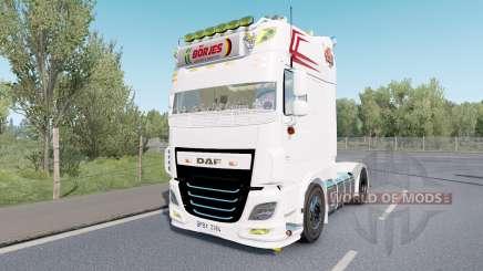 DAF XF Super Space Cab custom for Euro Truck Simulator 2