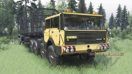 Tatra T813 TP 8x8 1967 v1.4.1 for Spin Tires