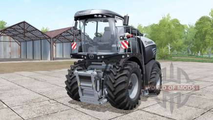 Krone BiG X 580 black for Farming Simulator 2017