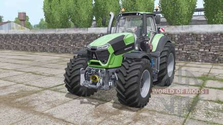Deutz-Fahr Agrotron 9340 TTV Power Engine for Farming Simulator 2017