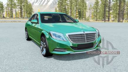 Mercedes-Benz S 500 (W222) 2013 for BeamNG Drive