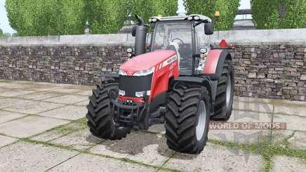 Massey Ferguson 8732 More Realistic for Farming Simulator 2017