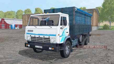 KamAZ 53212 white for Farming Simulator 2015