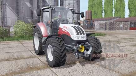 Steyr Multi 4095 2013 dynamic hoses for Farming Simulator 2017