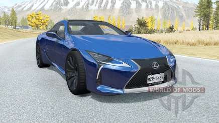 Lexus LC 500 2017 for BeamNG Drive