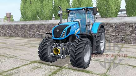 New Holland T7.315 with options for Farming Simulator 2017