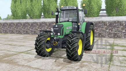 Fendt 820 Vario TMS choice wheels for Farming Simulator 2017
