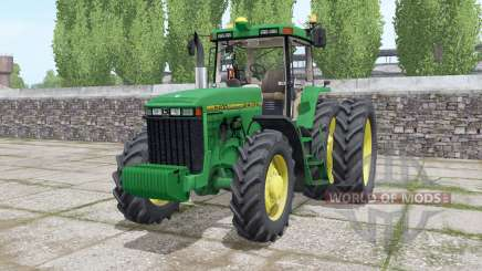 John Deere 8400 wheels selection for Farming Simulator 2017