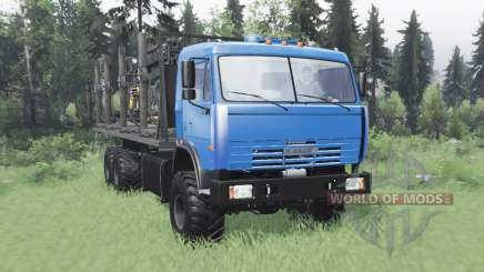 KamAZ 43118 long base v1.1 for Spin Tires