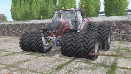 Valtra T174e triple wheels for Farming Simulator 2017