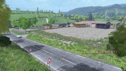 Gelvin Valley v2.0 for Farming Simulator 2015