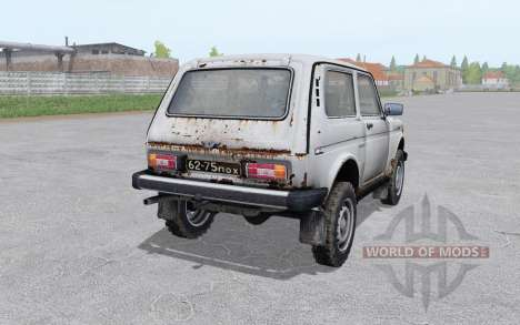 Lada Niva (2121) 1977 rusty for Farming Simulator 2017