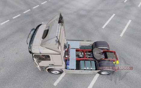 Mercedes-Benz Antos 1840 2012 for Euro Truck Simulator 2