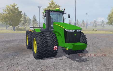 John Deere 9560R double wheels for Farming Simulator 2013
