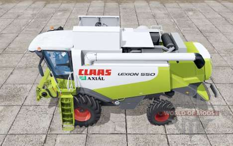 Claas Lexion 550 interactive control for Farming Simulator 2017