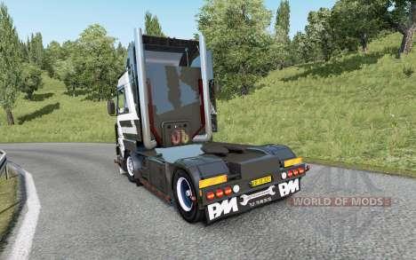 Scania 143M V8 420 custom for Euro Truck Simulator 2