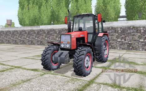 MTZ-1221 Belarus with animation parts for Farming Simulator 2017