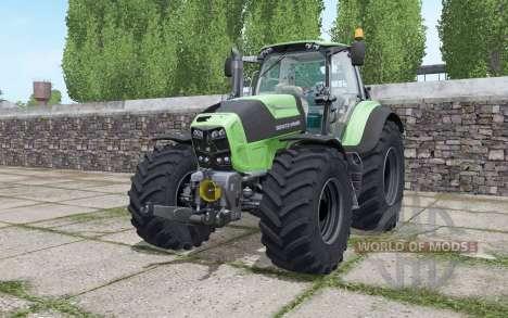 Deutz-Fahr Agrotron 7210 TTV Goodyear tyres for Farming Simulator 2017