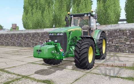 John Deere 8430 configure for Farming Simulator 2017