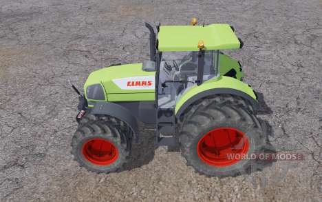 Claas Ares 826 double wheels for Farming Simulator 2013
