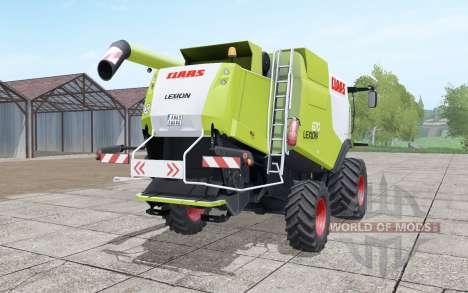 Claas Lexion 670 4x4 for Farming Simulator 2017
