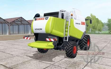 Claas Lexion 550 interaktive steuerung for Farming Simulator 2017