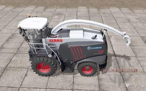 Claas Jaguar 930 Gavazzoni Black for Farming Simulator 2017