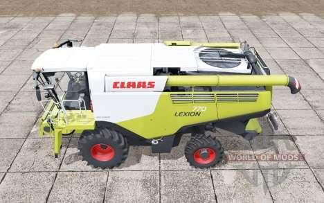 Claas Lexion 770 interactive control for Farming Simulator 2017