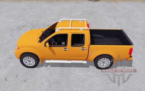 Nissan Frontier Pro-4X Crew Cab (D40) 4x4 2012 for Farming Simulator 2017