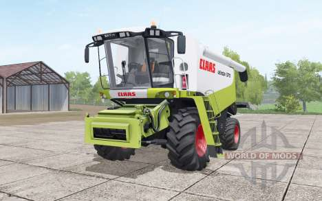 Claas Lexion 570 with headers for Farming Simulator 2017