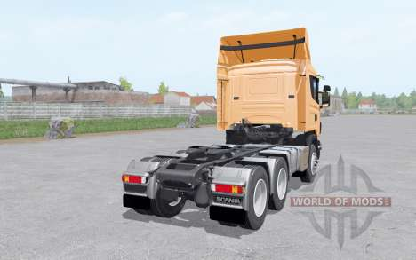 Scania R440 tractor normal cab for Farming Simulator 2017
