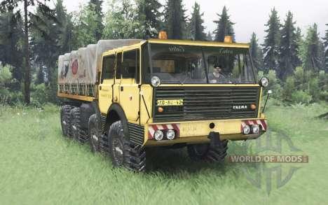 Tatra T813 TP 8x8 1967 v1.6 for Spin Tires