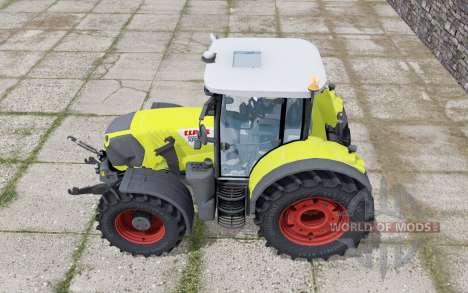 Claas Arion 650 loader montieren for Farming Simulator 2017