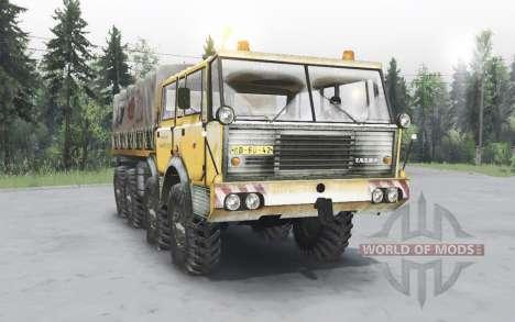 Tatra T813 TP 8x8 1967 winter v1.4.1 for Spin Tires