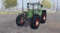 Fendt Favorit 615 LSA Turbomatic double wheels for Farming Simulator 2013