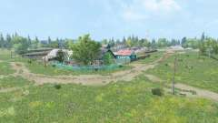 The village Kuray v3.0 for Farming Simulator 2015